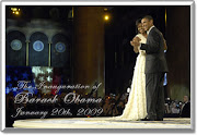 President and First Lady Obama's first dance