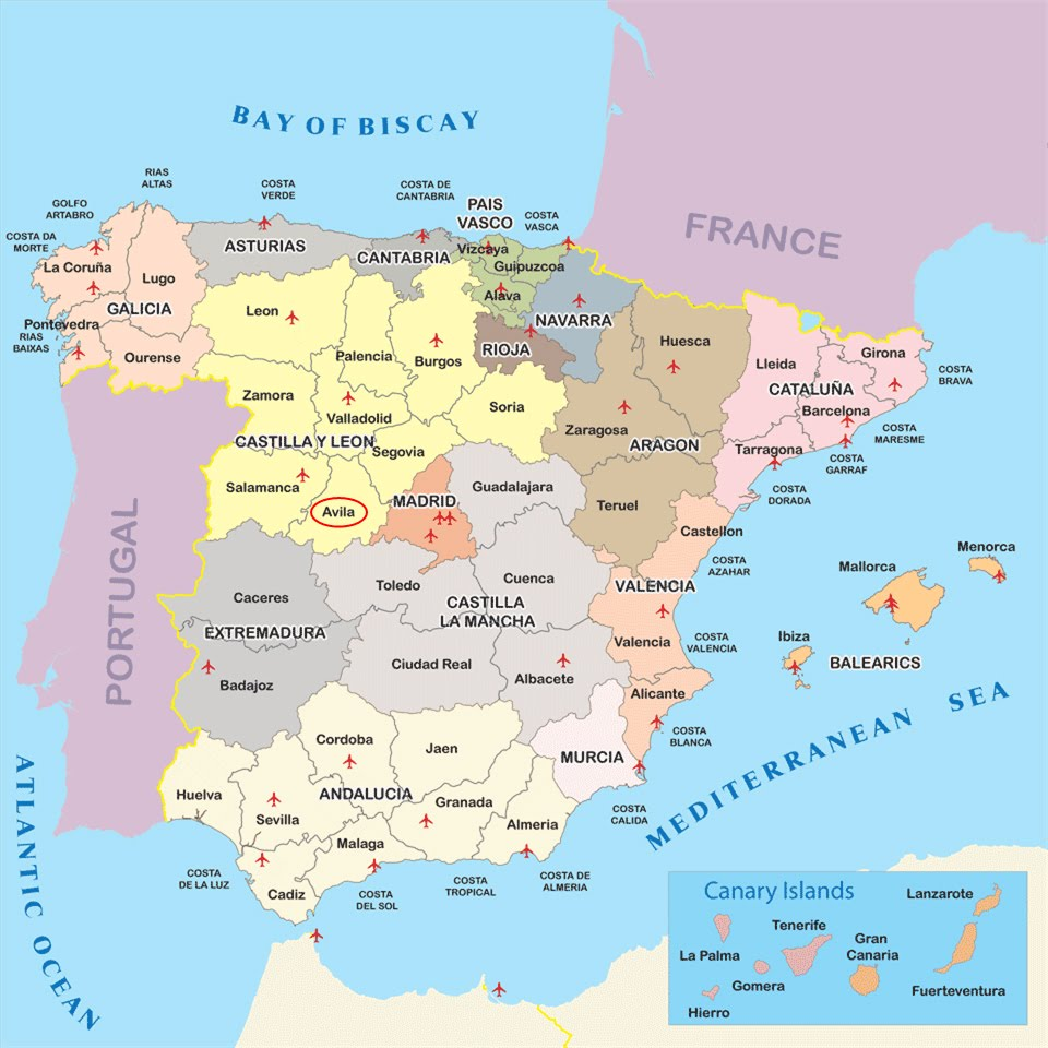 International Study of RERegions Province of vila Castilla Y