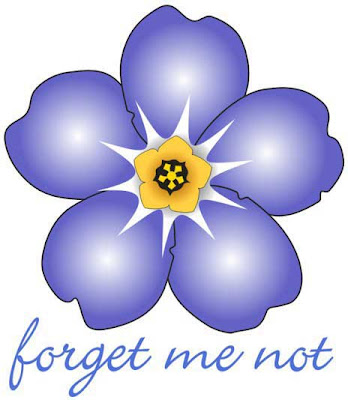 Gallery For gt Forget Me Not Flower Outline Tattoo