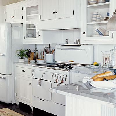 Vintage Style Kitchen Cabinets