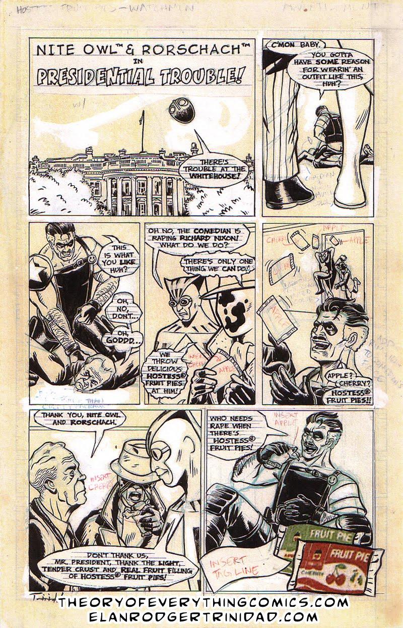 Watchmen Porn Comic