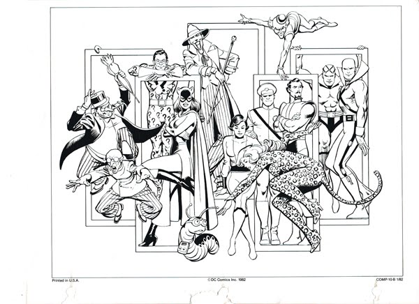 Batman Villains Printable Coloring Pages