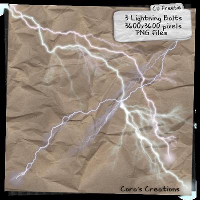 http://www.pimpyourscrapbook.com/2009/09/cu-freebie-lightning-bolts.html