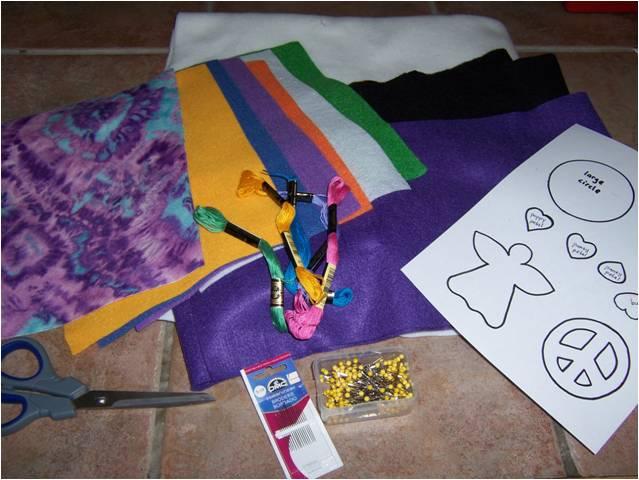 Art Threads Monday Project Layered Felt