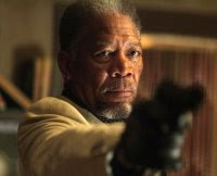 The Code Movie - Antonio Banderas and Morgan Freeman