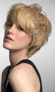 New Short Haircut Model