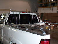 This headache rack is the same as the above aluminum headache but is attached to the vehicle using a full length rail and bed cap combo. & Tidy Truck Boxliners: Headache Racks