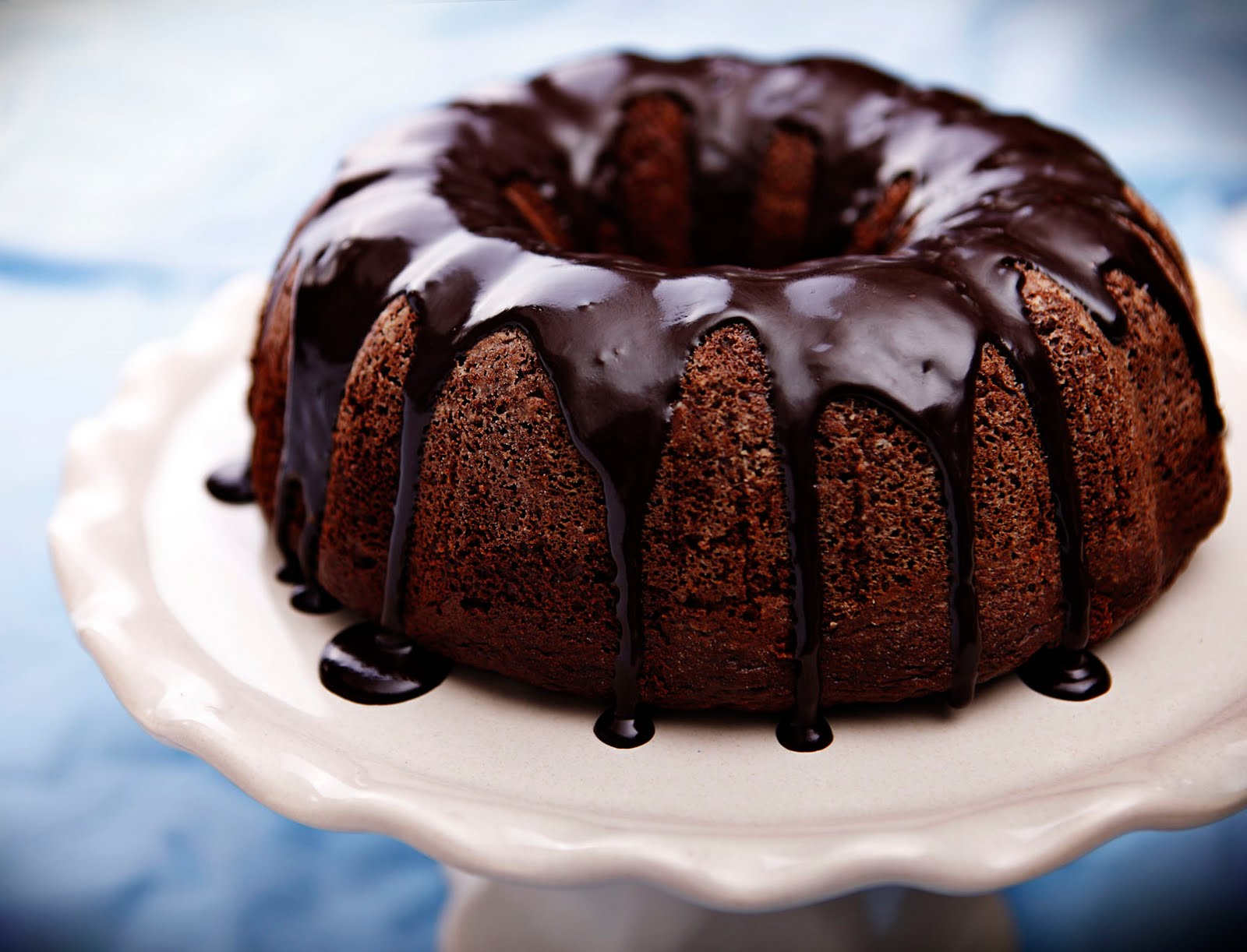 Confessions of a Bake-aholic: Double Chocolate Bundt Cake