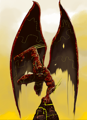Mike Kevan Art Dump: Darksiders Inspired Satan