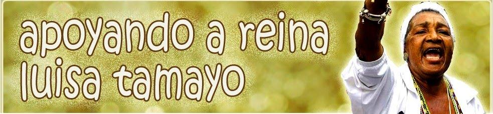 Apoyando a Reyna Luisa Tamayo