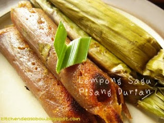 Lompong Sagu Pisang Durian by Lany