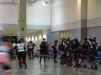 Roller Derby Skaters