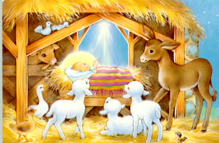 Carols today and heard away in a manger away in a manger no crib for