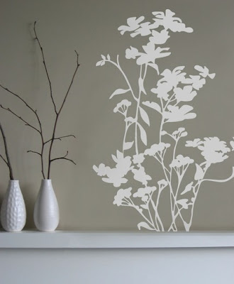Palatial living trend fun with wall decals - Stickers murali ikea ...