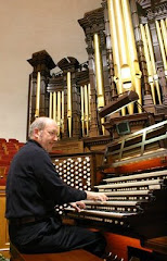 At the Tabernacle organ