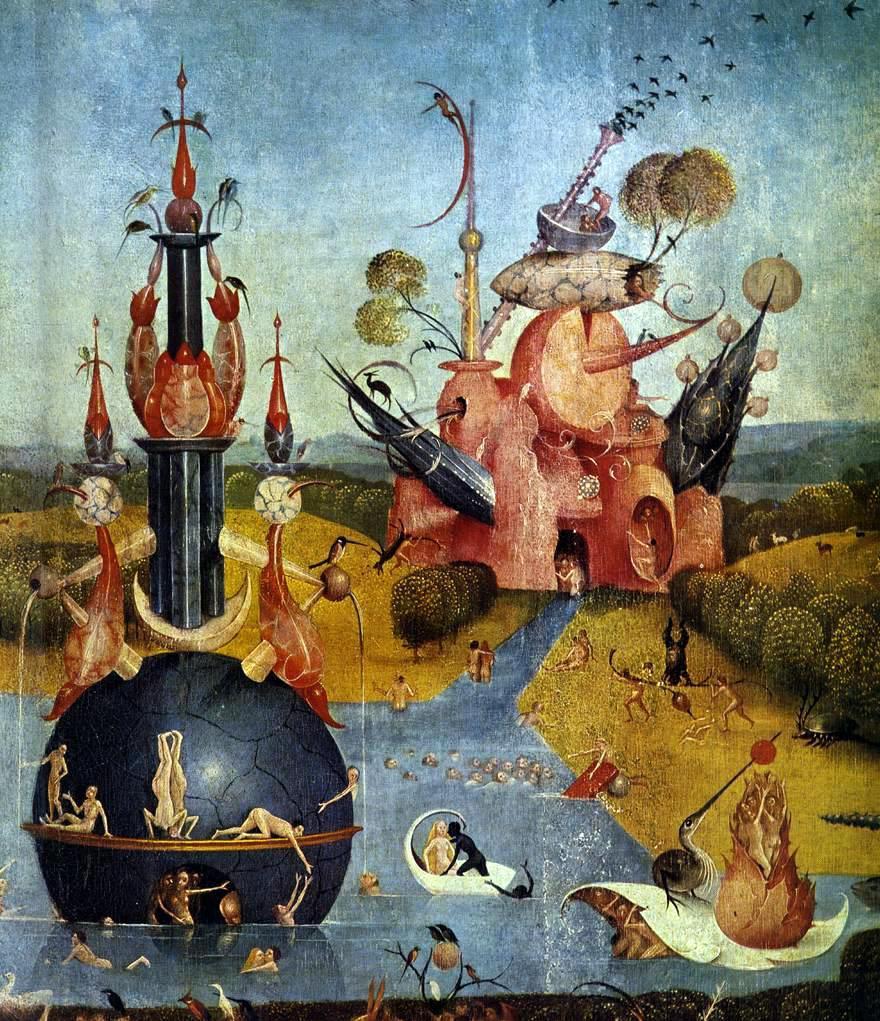Elemeno p hieronymus bosch for Bosch jardin des delices