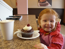 To the cocoa bean for some hot chocolate and a cupcake