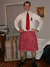 Jacob in a Kilt!