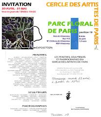 2003 - Exposition C.A.P. au Parc Floral de Paris