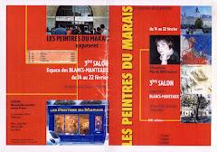 2001 - 3 ème Salon des peintres du Marais à Paris