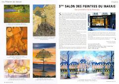 Presse 3ème Salon des Peintres du Marais