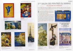 Presse 5ème Salon des Peintres du Marais