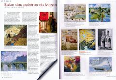 Presse 6ème Salon des Peintres du Marais