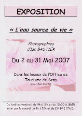 Mai 2007 - Exposition à Sens
