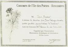 Concours de l'Île des Poètes 2003