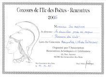 Concours de l'Île des Poètes 2005