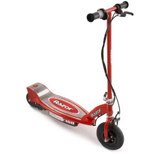 Stand up electric scooter on sale razor e100 stand up for Stand on scooters with motor