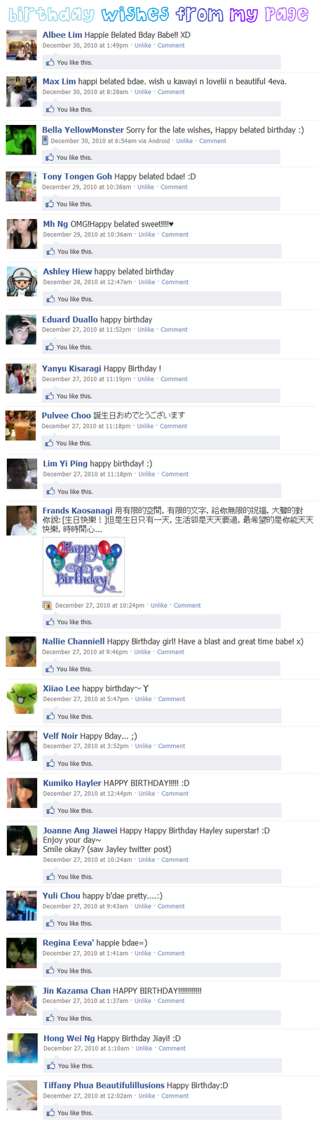 birthday wishes for friends facebook. single irthday wishes! :D