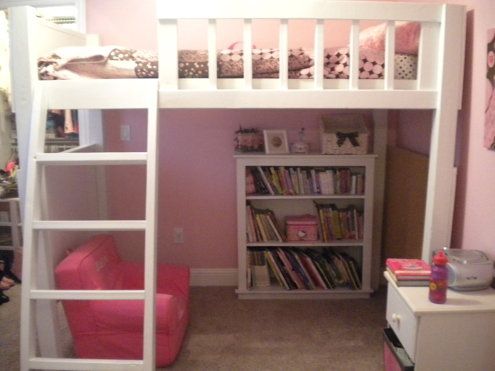 Loft Beds On Pinterest Loft Bed Plans Loft And Bunk Bed