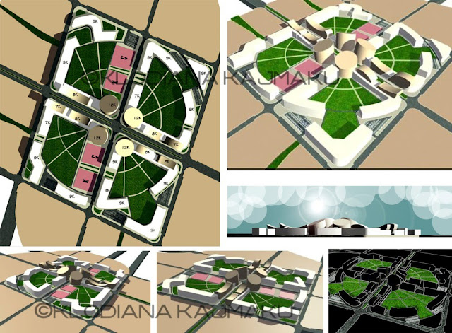 Urban Design Proposal Of A New Housing Complex In Kashar Tirana