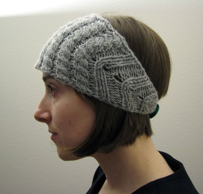 Knitted Head Scarf Pattern : Knit Head Scarf