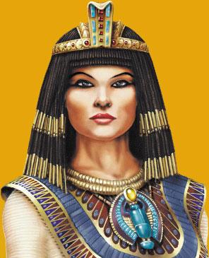 الملكة كليوباترا أقوى ملكات