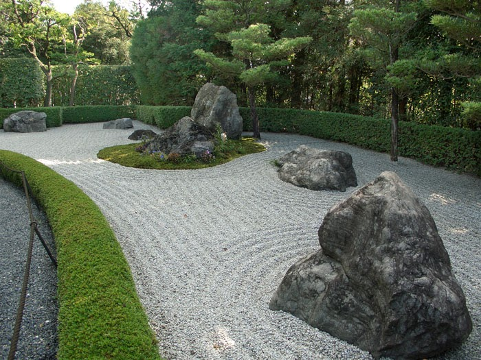 rock garden  jardim zen
