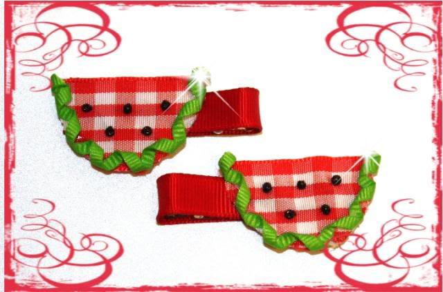 Watermelon Ribbon Art!