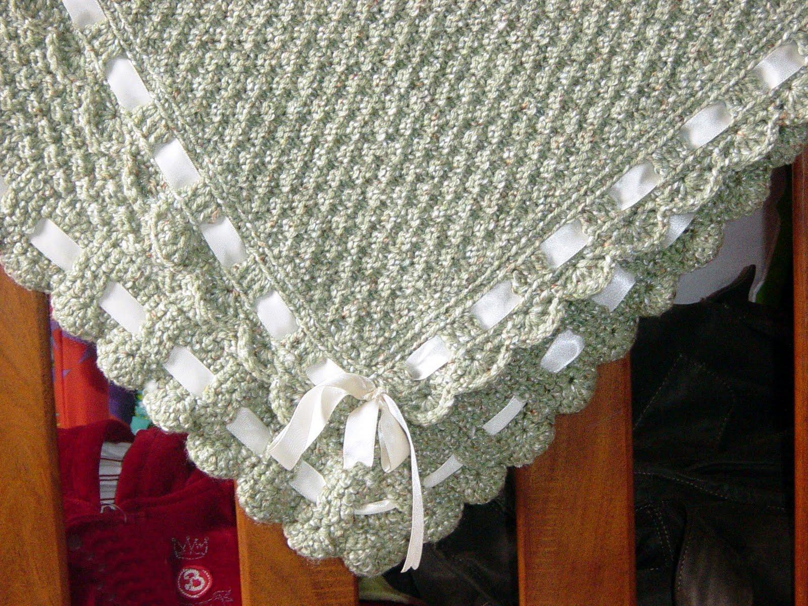 Cinnamon creaciones manta para beb for Mantas de lana hechas a mano