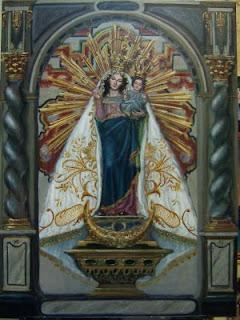 Cartel 2006 Virgen de las Nieves de Gabia.