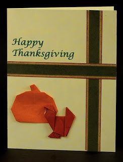 Origami Thanksgiving Cards