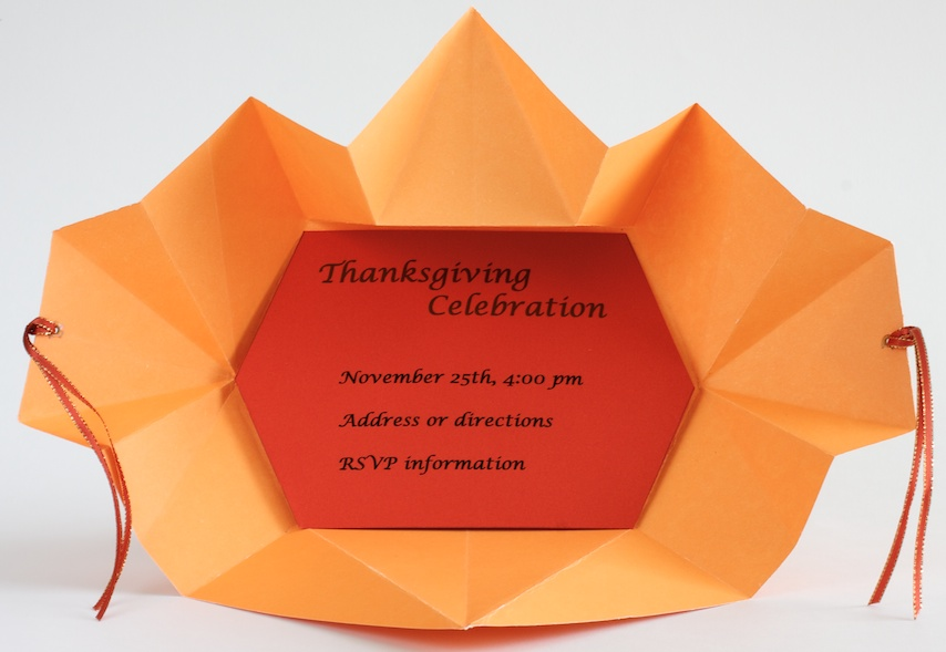 THANKSGIVING ORIGAMI