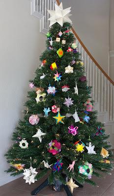 Origami Christmas Tree