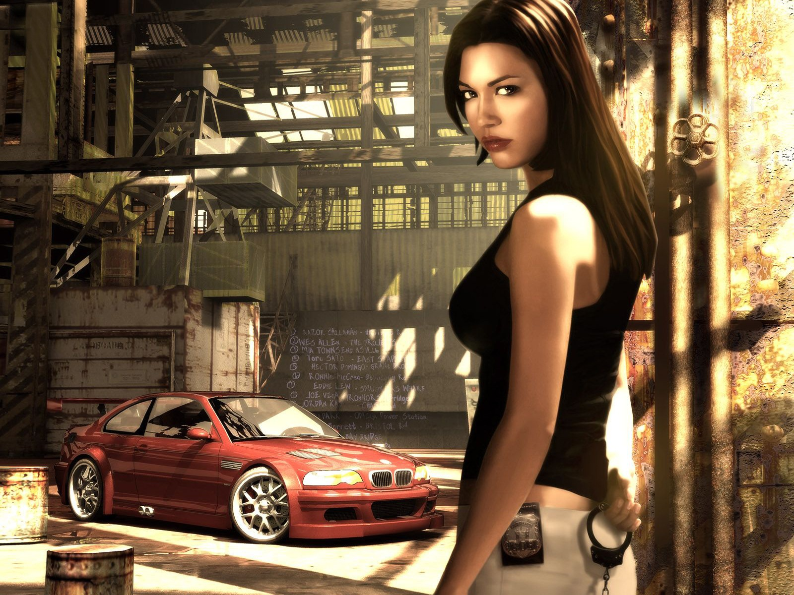 Need For Speed Most Wanted Red Hamachi