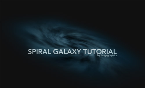 Create a Spiral Galaxy in 5 Easy Steps Photoshop tutorial