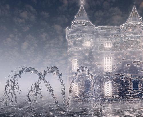 Fantastic Water Landscape Photoshop tutorial