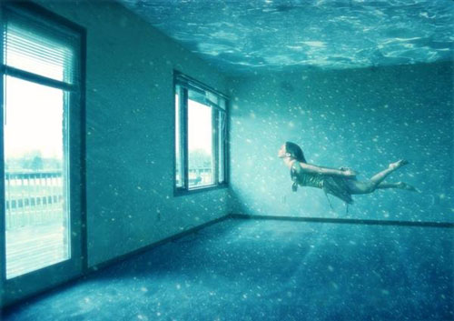 Breathtaking Underwater Apartment Photo Manipulation Photoshop tutorial