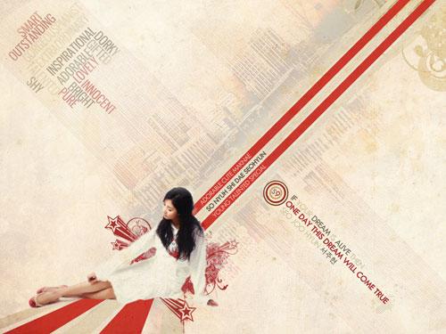 SNSD Seohyun Retro wallpaper