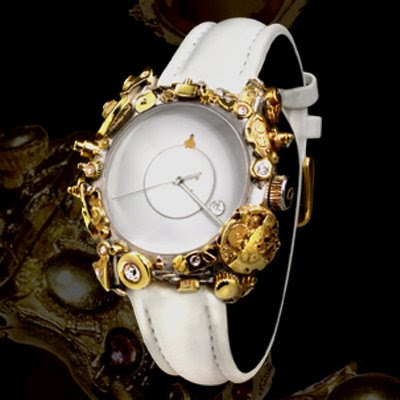 Angular Momentum's Sculpture Collection Jewelry Timepieces