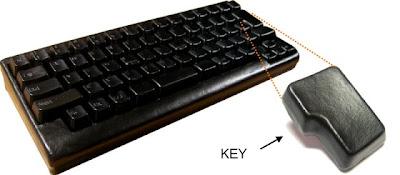 GOKUKAWA Leather Keyboard